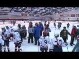 Замес в женском хоккее