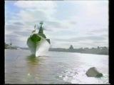Военный парад России. Ракетный крейсер